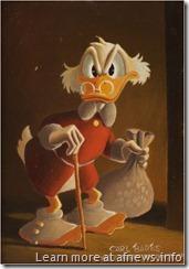 Carl Barks oil Uncle Scrooge