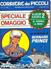 Bernard Prince sul Corriere dei Piccoli