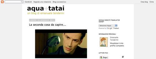 Il blog di Emanuele Tenderini