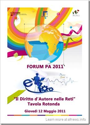 Forum PA 2011_Pagina_1