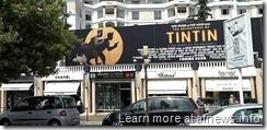 Tintin-Cannes-cartellone