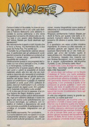 Luca Raffaelli intervista Vassallo su Laciostory 15 ottobre 2012