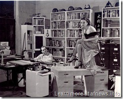 Milt Caniff and Steve Canyon model 1947