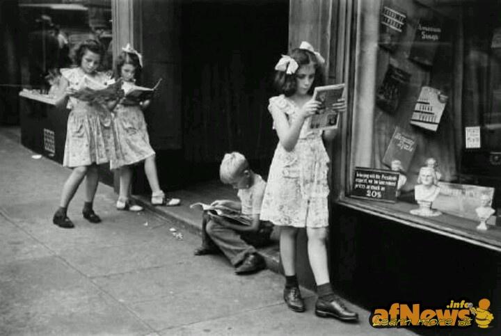 1947 comics readers - click