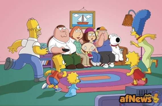 the-simpsons-family-guy-570x374