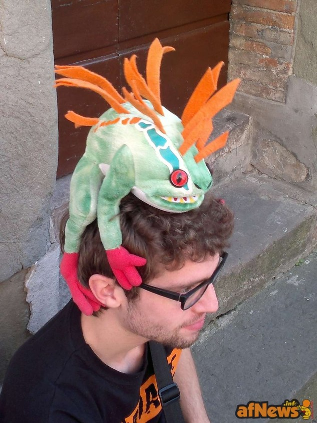 063 Ho un'iguana alla testa! - afnews