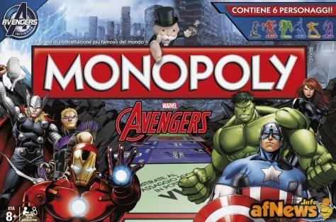 GIOCHI Monopoly Avengers