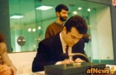 Un giovanissimo Claudio Villa in una vecchia foto di Gianfranco Goria