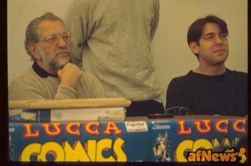 Joe e Adam Kubert - foto Gianfranco Goria