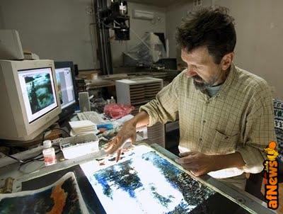 Petrov e la sua pittura animata