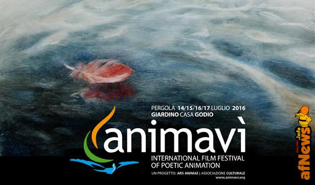 Il manifesto di Animavì, realizzato da Petrov
