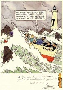 herge-per-leblanc-26-settembre-1953-tintin-7-anni-afnews