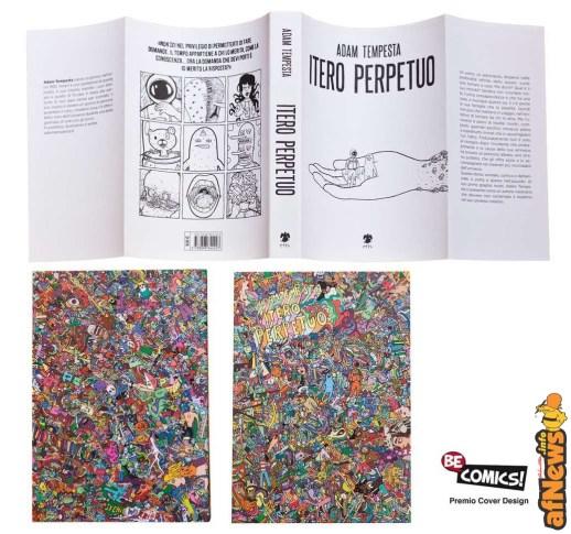 Premio Fumetto Cover Design - Itero Perpetuo-afnews