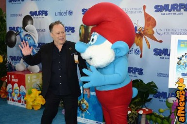 NEW YORK, NY - MARCH 18: Director Kelly Asbury at the United Nations Headquarters celebrating International Day of Happiness in conjunction with SMURFS: THE LOST VILLAGE on March 18, 2017 in New York City. (Photo by Andrew Toth/Getty Images for Sony Pictures)