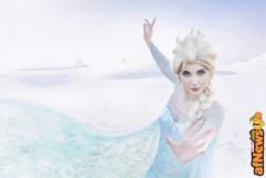 Miriel Montague cosplay Elsa Frozen-afnews