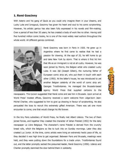 Belgian Comics Art Museum exhibit Asterix in Belgium - PRESS-5-afnews