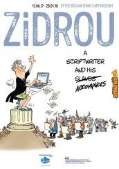 Belgian Comics Art Museum poster Zidrou exhibit-afnews