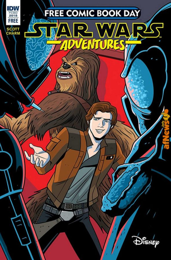 IDW Star Wars Adventures freecomicbookday 2018-afnews