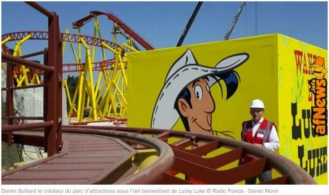 Il Parco di divertimenti Spirou è in dirittura d'arrivo!