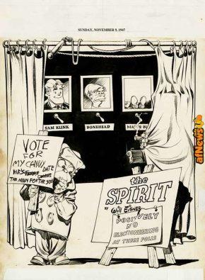 The Spirit - Mr- Bowser's Election (1947)-afnews