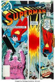 Superman 329 Cover Color Guide DC 1978-afnews-afnews