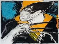 Wolverine - Tanino Liberatore - fusain et craie sur papier - 76x56 cm - 2018 (c)courtesy Huberty et Breyne Gallery-afnews