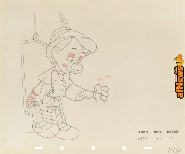 5 - Pinocchio Disney-afnews