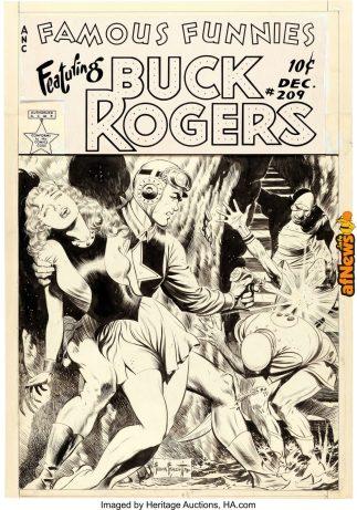 Buck Rogers 1953 Frank Frazetta-afnews