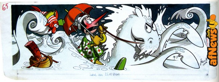 Jacovitti Pinocchio cavalloni originale-afnews