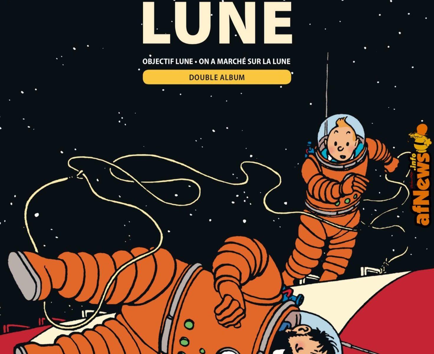 Calendario Lunare Capelli Marzo 2020.Tintin E La Luna Nuova Edizione Per L Anniversario Dello