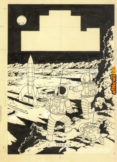 Uomini sulla Luna cover originale-afnews