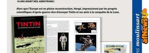 Tintin: i primi passi sulla Luna