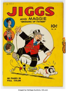 our Color (Series One) 918 Jiggs and Maggie (Dell, 1941)-afnews