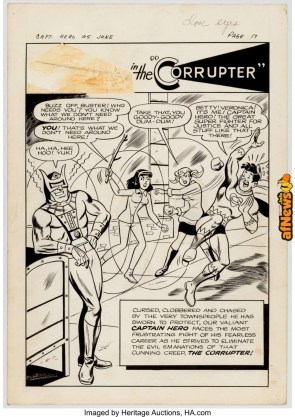 Archie Artist Jughead as Captain Hero 15 Complete 11-Page Story The Corrupter-afnews