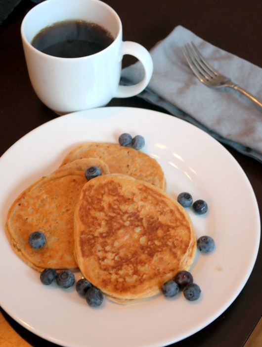 Gluten Free Protein Pancakes low carb
