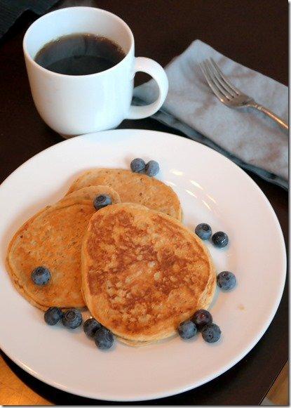 Gluten Free Protein Pancakes recipe low carb