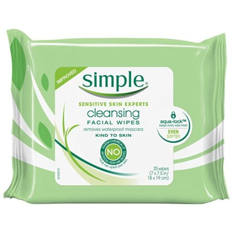Simple Cleaning Facial Wipes Review