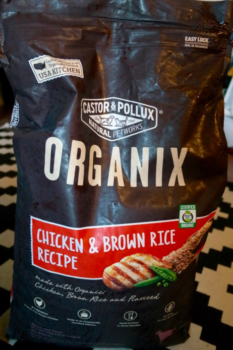 castor and pollux organix grain free dog food review