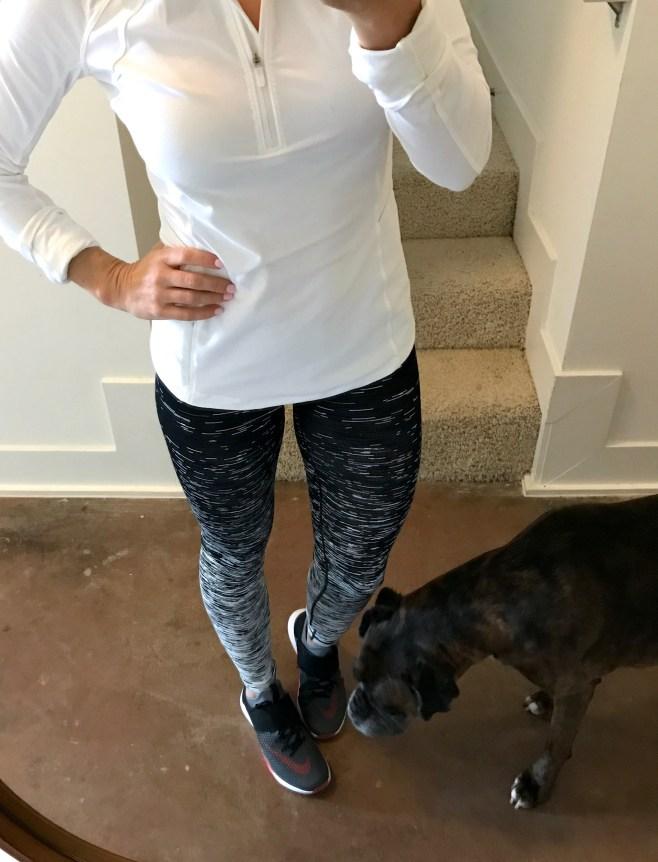 zella static reversible leggings