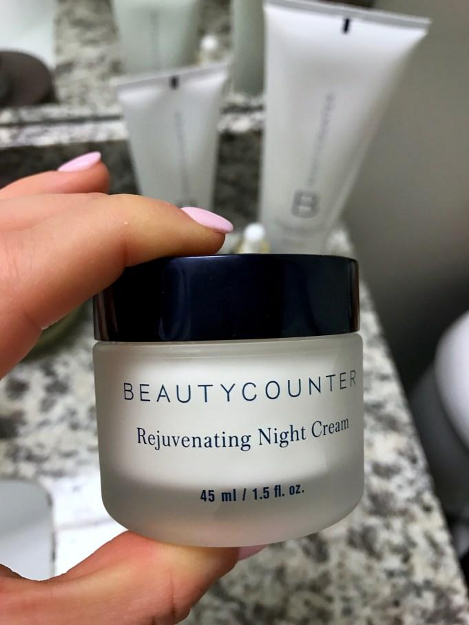 beautycounter rejuvenating night cream review