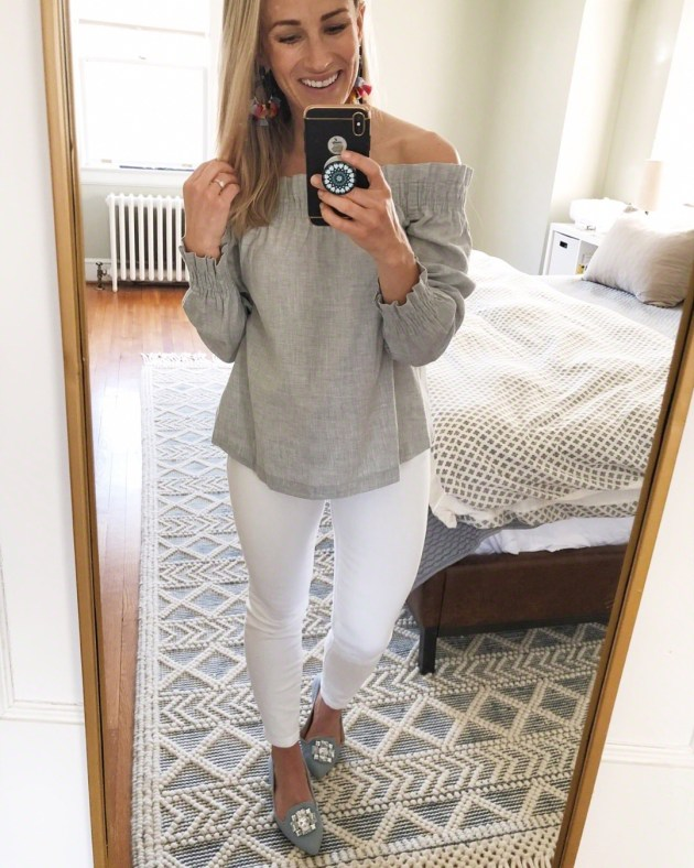best white jeans