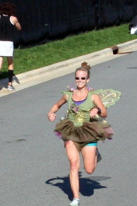 running-costume-tinkerbell