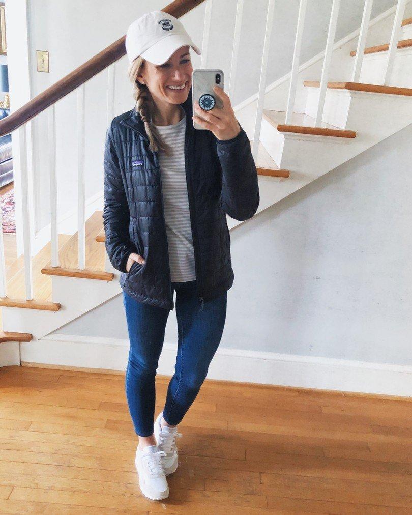 Patagonia jacket for Fall wardrobe staples