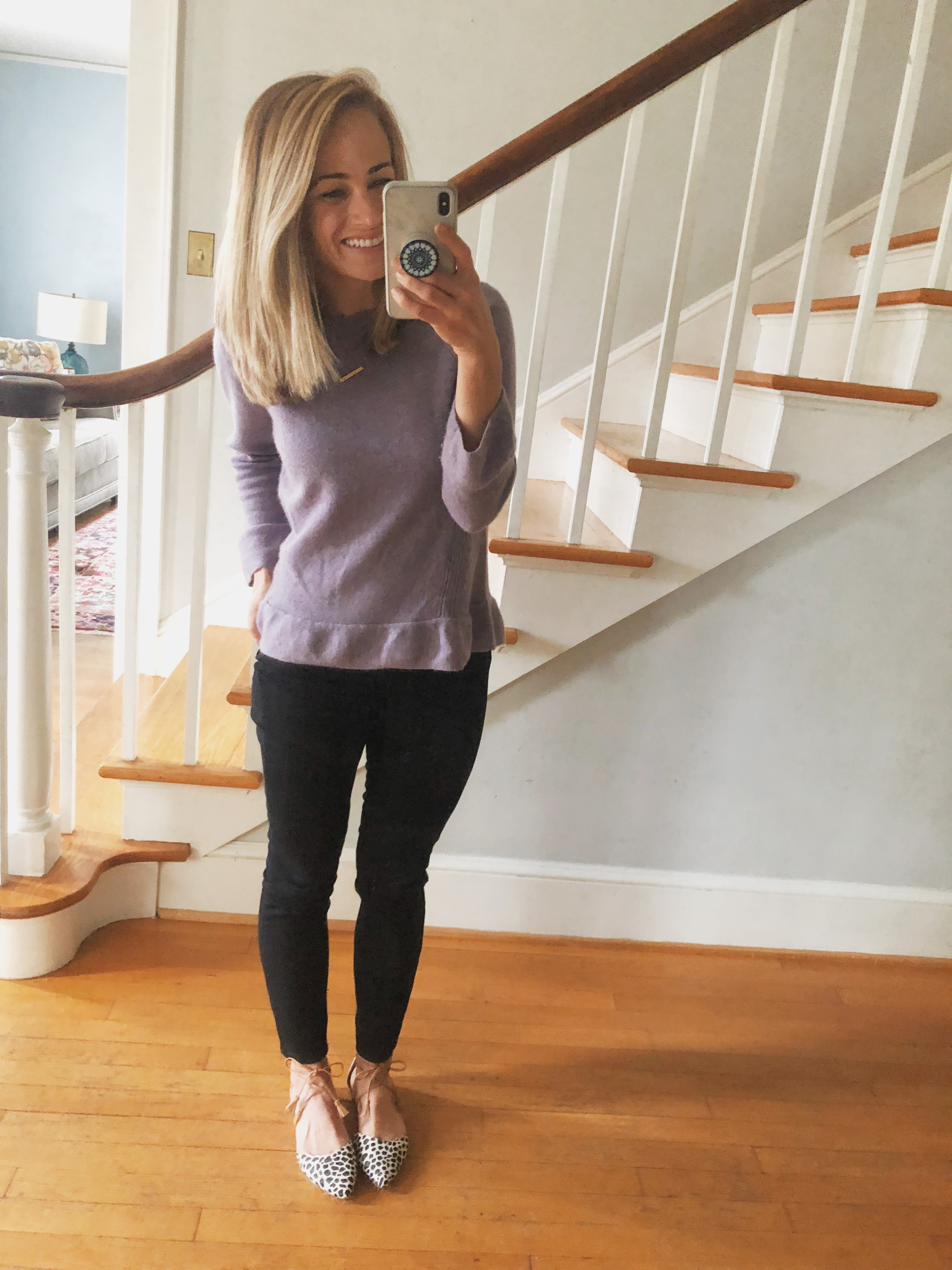 7b068dff I got the sweater from DailyLook, a styling service I LOVE – they've been  so helpful sending me items that work for me. Petite style can be hard to  nail but ...