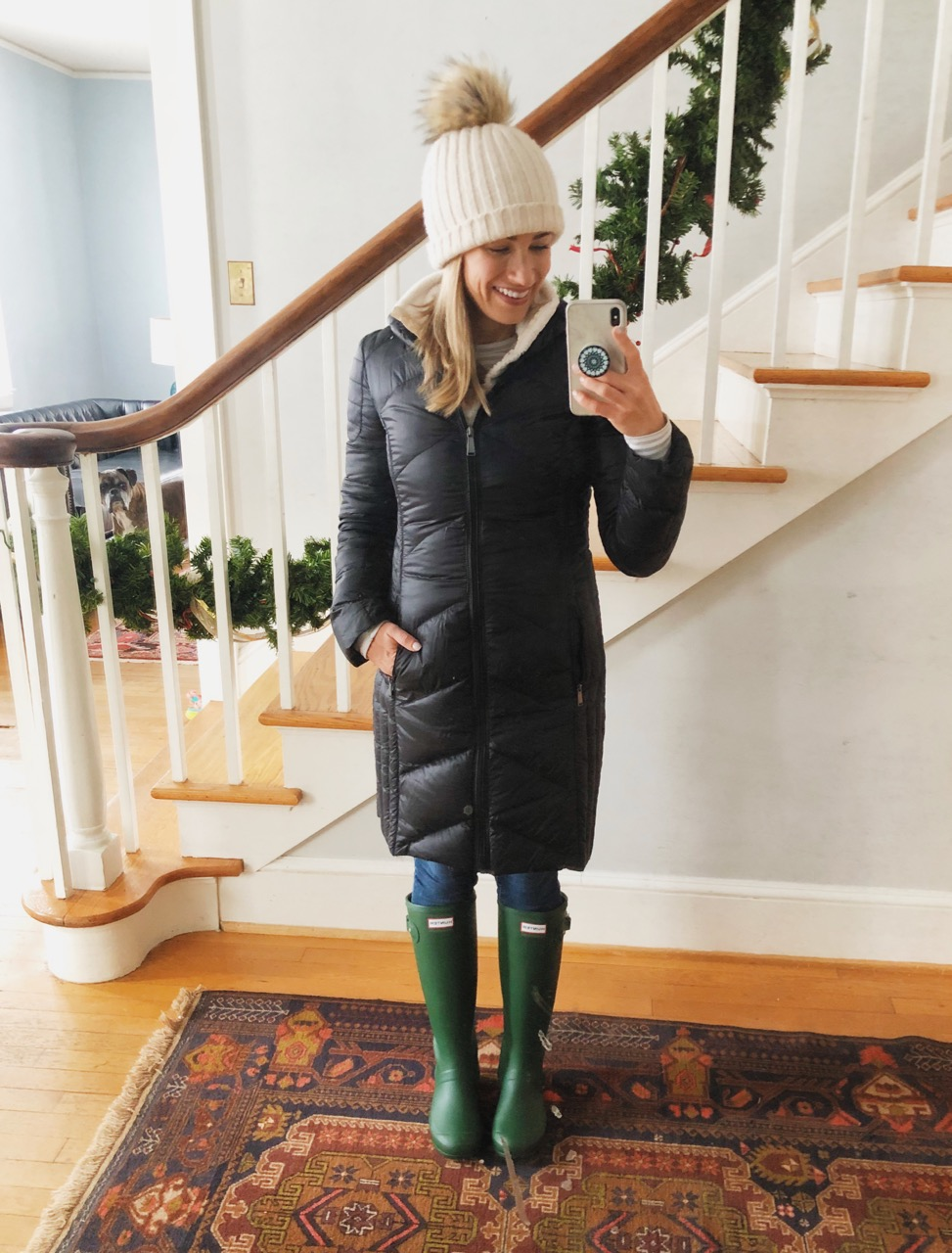 hunter boots winter