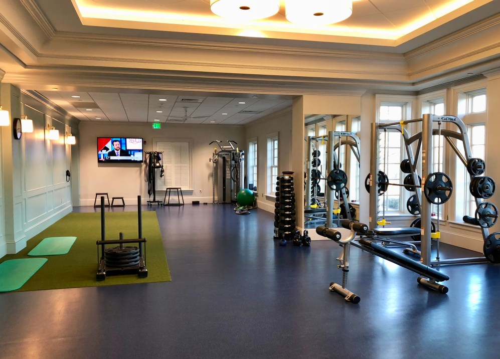 forsyth country club gym