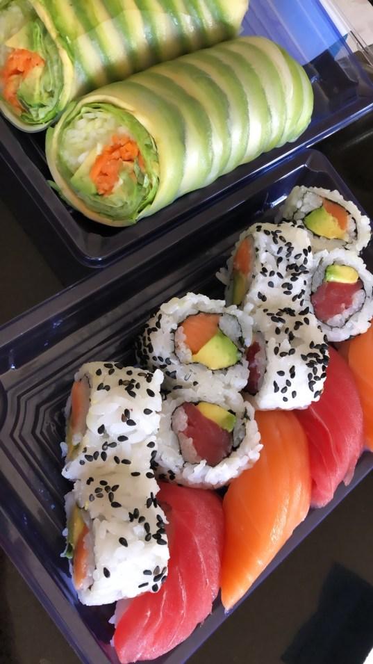 harris teeter sushi