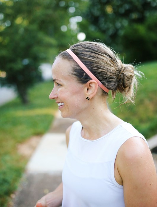 What to wear on sweaty runs
