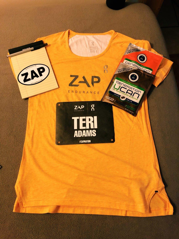 Zap Endurance running camp