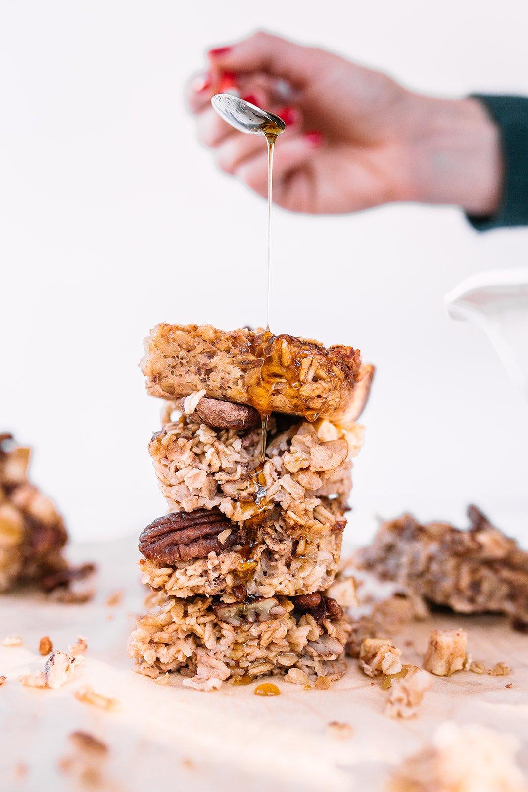 Gluten-free oatmeal breakfast bake
